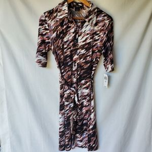 Style & Co/ Buttoms Down Dress/ Size Medium
